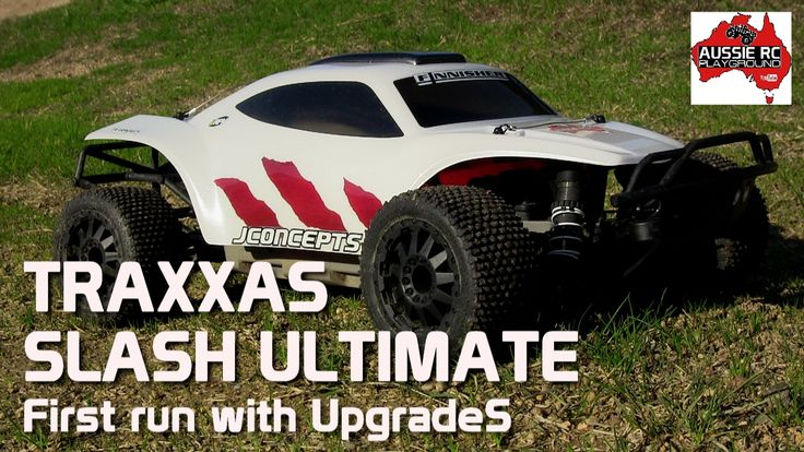 Traxxas Slash Ultimate with budget upgrades - CRAZY Power!