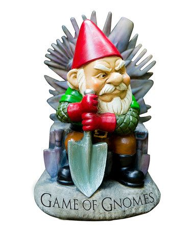 Look what I found on #zulily! 'Games of Gnomes' Gnome Figurine by BigMouth Inc. #zulilyfinds