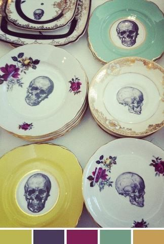 Transfer onto old plates