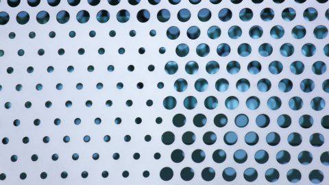 Perforated Metal Cladding - Cisco Systems | Hendrick Manufacturing