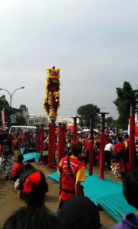 Barongsay Action #imlek2565 #theyearofthehorse #kampungchina