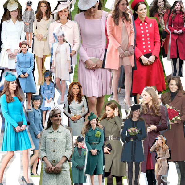 I want all of Kate Middleton's coats
