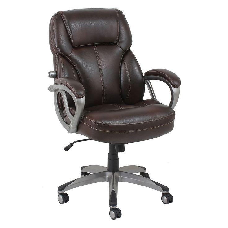BarcaLounger Big & Tall Executive Chair, Brown (Supports up to 350 lbs.) - GF-9195H