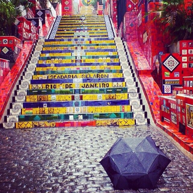 We lost #Selarón, an amazing Chilean artist who worked on this beautiful mosiac staircase in #RioDeJaneiro for nearly 20 years, in 2013, but his legend lives on between Santa Teresa and Lapa. Known as #EscadariaSerlarón, it's a must-see photo opportunity in Rio. #lpcelebrazil @lonelyplanet. Via [at]kevinraub on Instagram.