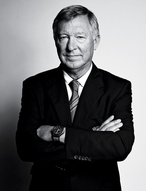 Alex Ferguson is the reason I'm a bad loser. I was born in 91, until recently I didn't know a United without him. Weird to say someone I've never met is influential to me, but he nearly got fired, and turned out to be the best manager in football history - not a bad person to admire, eh?