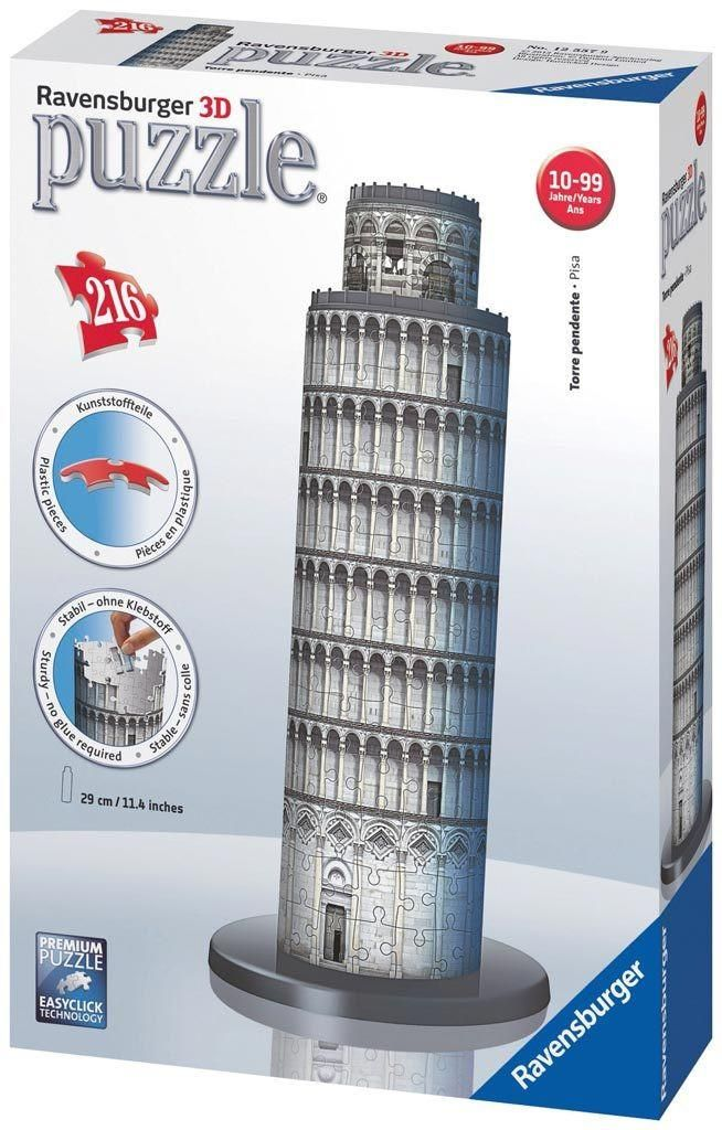Tower of Pisa - 216 Piece 3D Jigsaw Puzzle