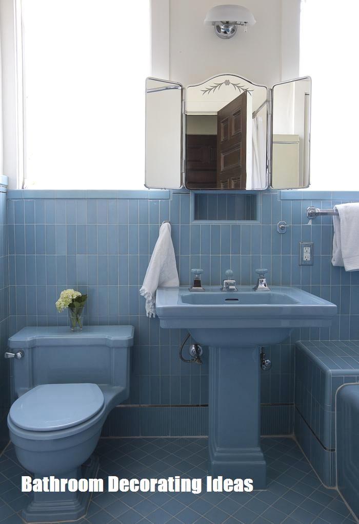 Check Out Retro Bathrooms For Extraordinary Bathroom Designs Retro Bathrooms Blue Bathroom Tile Vintage Bathrooms