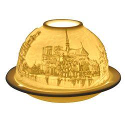 Bernardaud - Lithophanie Les Eglises de Paris #bernardaud #porcelaine #porcelain #tableware #tablesetting  #gift #cadeau