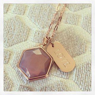 Rose Gold Locket Necklace   Stella & Dot