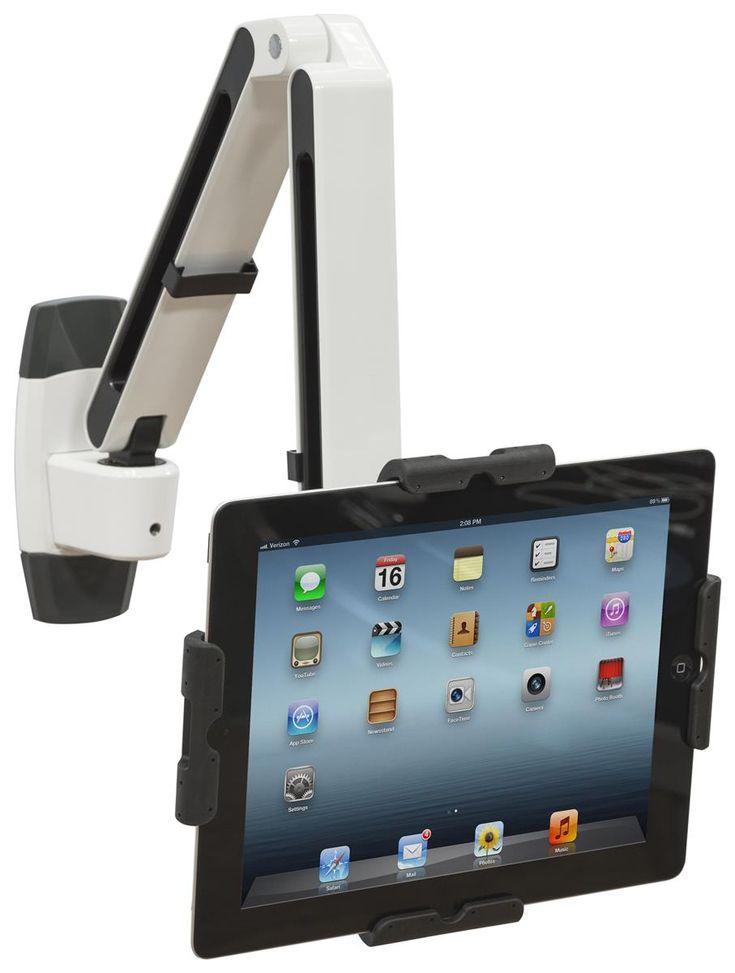 FlexStand Series IPad Wall Mount With Adjustable Arm, Tilts U0026 Locks U2013 White  U0026 Black