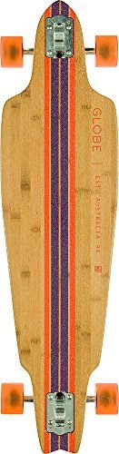 GLOBE HG 10525145 Prowler Bamboo Longboard, Bamboo/Clay, 38.5 ** Check out the image by visiting the link.