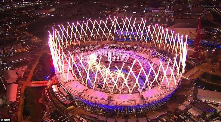 2012 Olympics Opening Ceremony: Fireworks