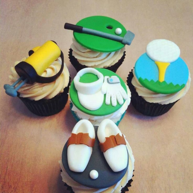 Golf Cupcake Images : 27 best images about Cupcakes - Golf Theme on Pinterest ...