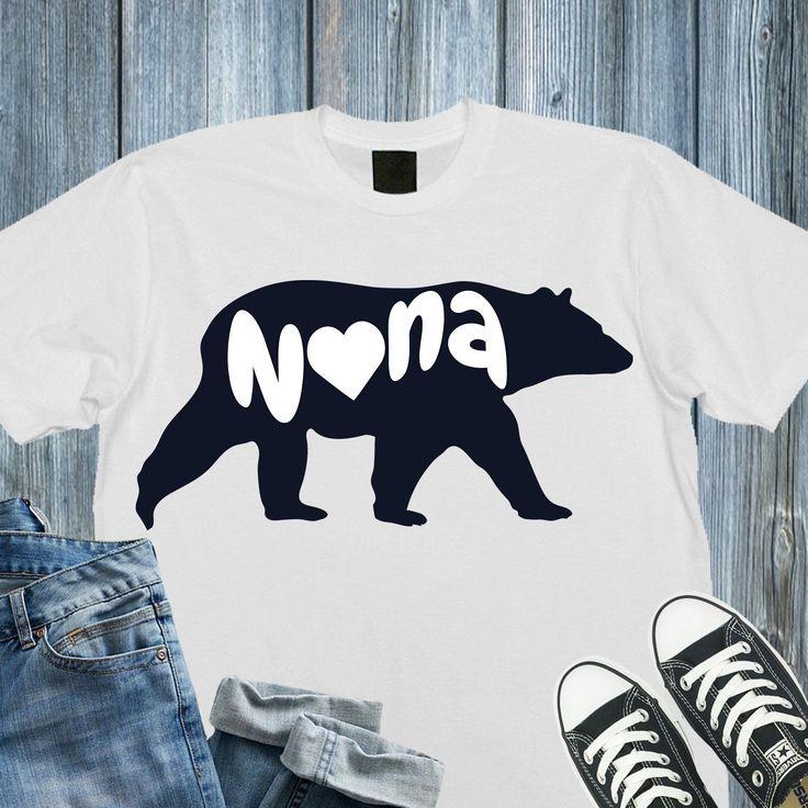 Nana svg,Nana bear svg,Nana bear cricut,Grandma bear svg