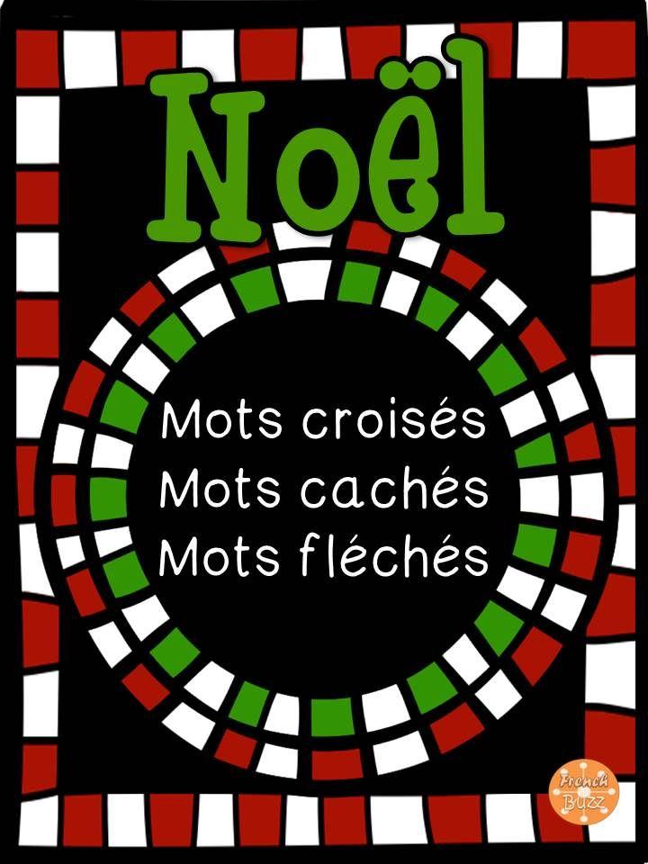 Noël - Mots croisés, cachés, fléchés.
