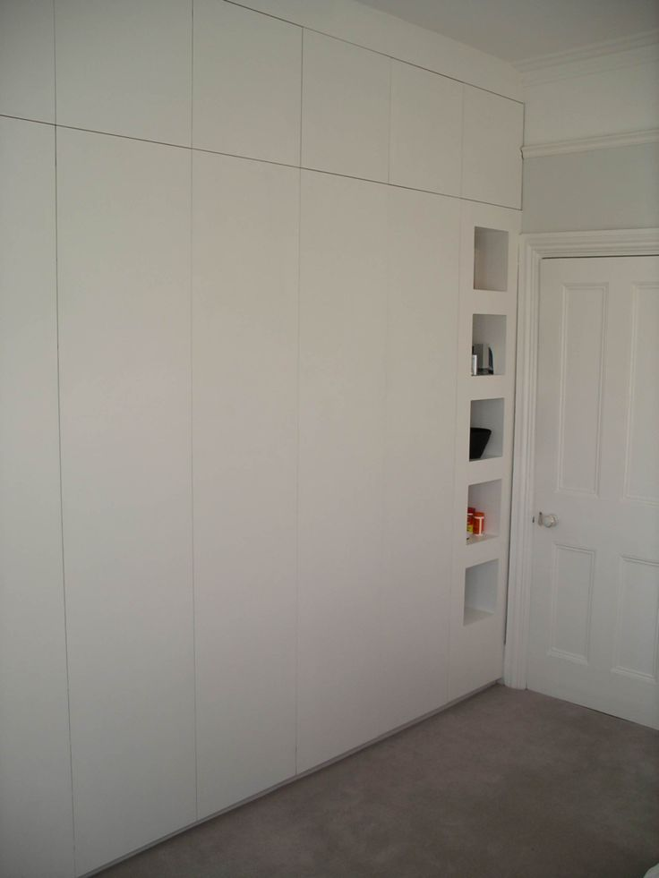 Kast slaapkamerkast inbouw maatwerk maatkast for Bedroom ideas with built in wardrobes