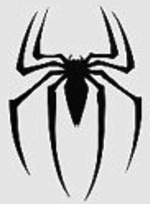 Spiderman Stencil Stencils Pinterest Spiderman And