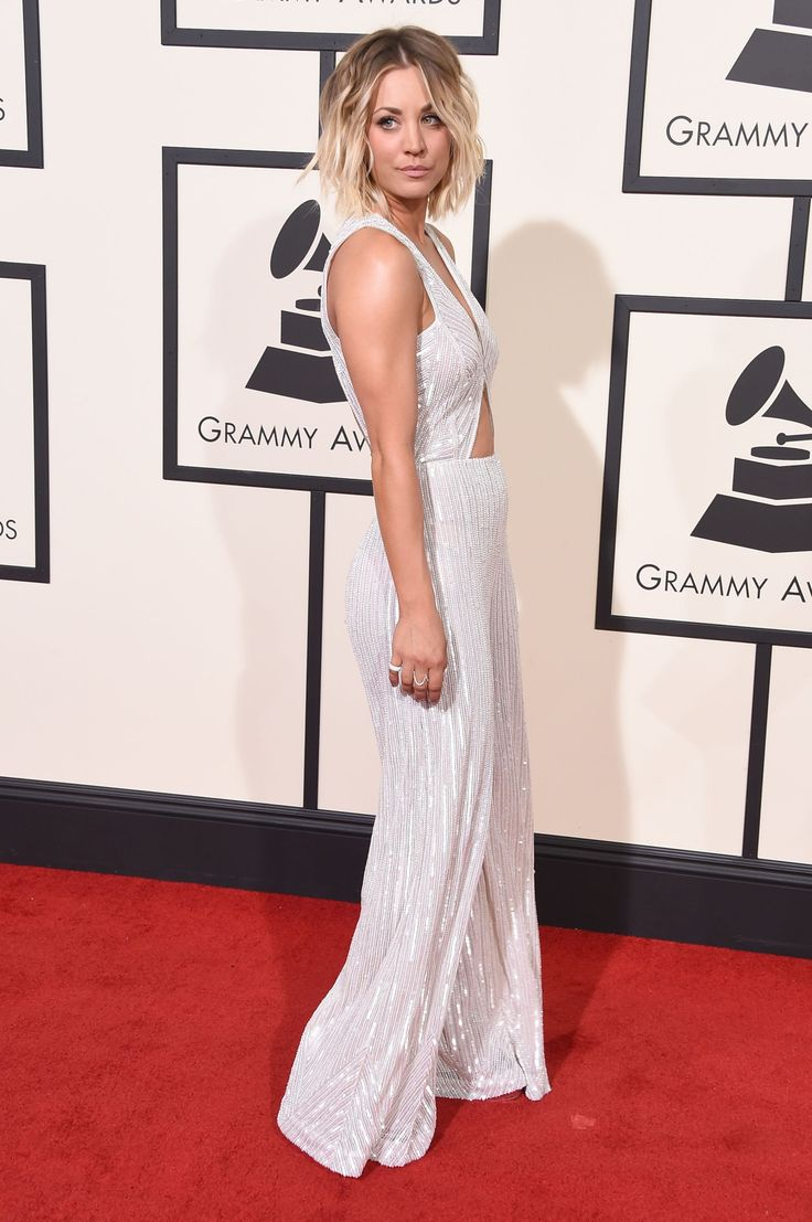Grammys 2016 Celebrity Hairstyles & Looks | Caley Cuoco