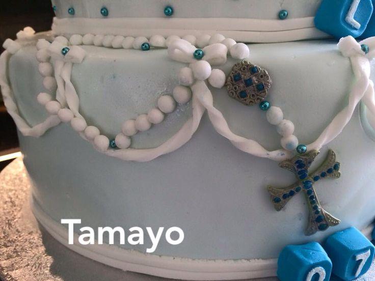Barnedåbs kage bambie rosenkrans