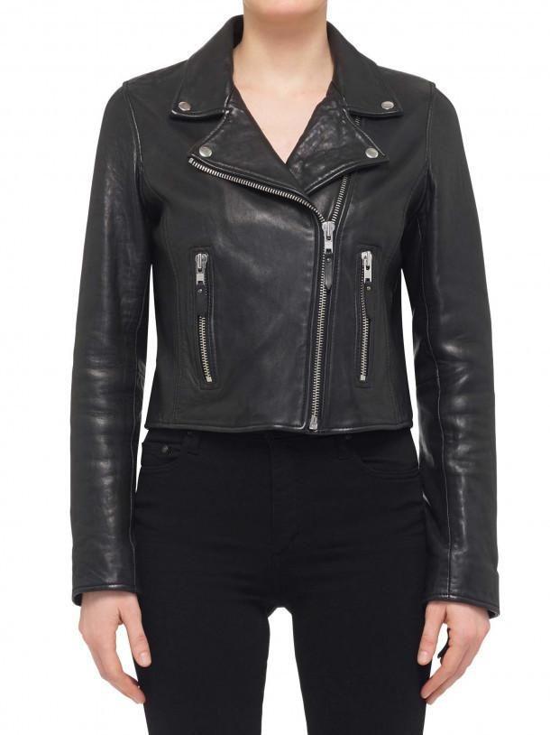 Nobody Denim - Classic Leather Jacket