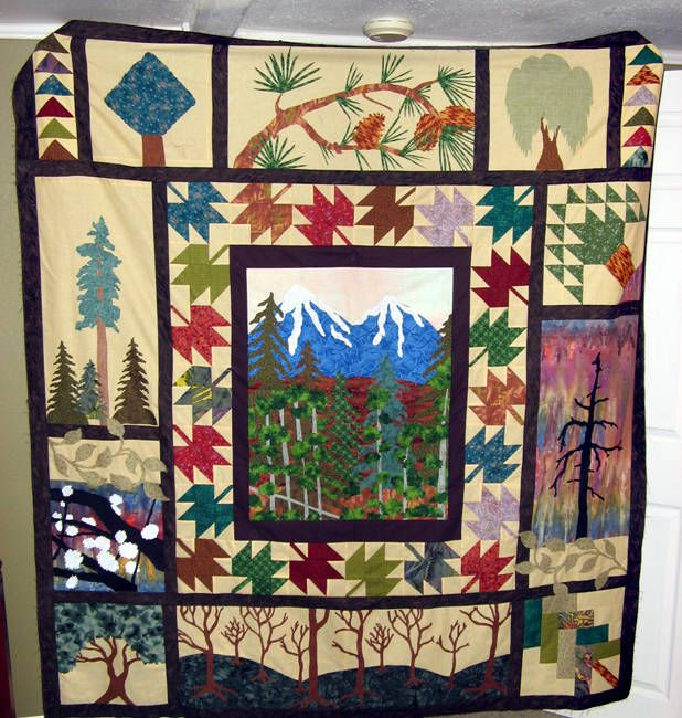 17 Best images about Quilt Inspiration on Pinterest Hexagons, Bed blankets and Quilting blogs