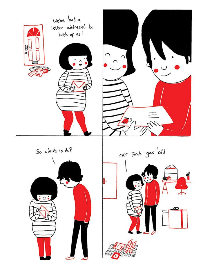 Best Soppy Images On Pinterest Rice Small Things And Book - Cute illustrations demonstrate what true love really is
