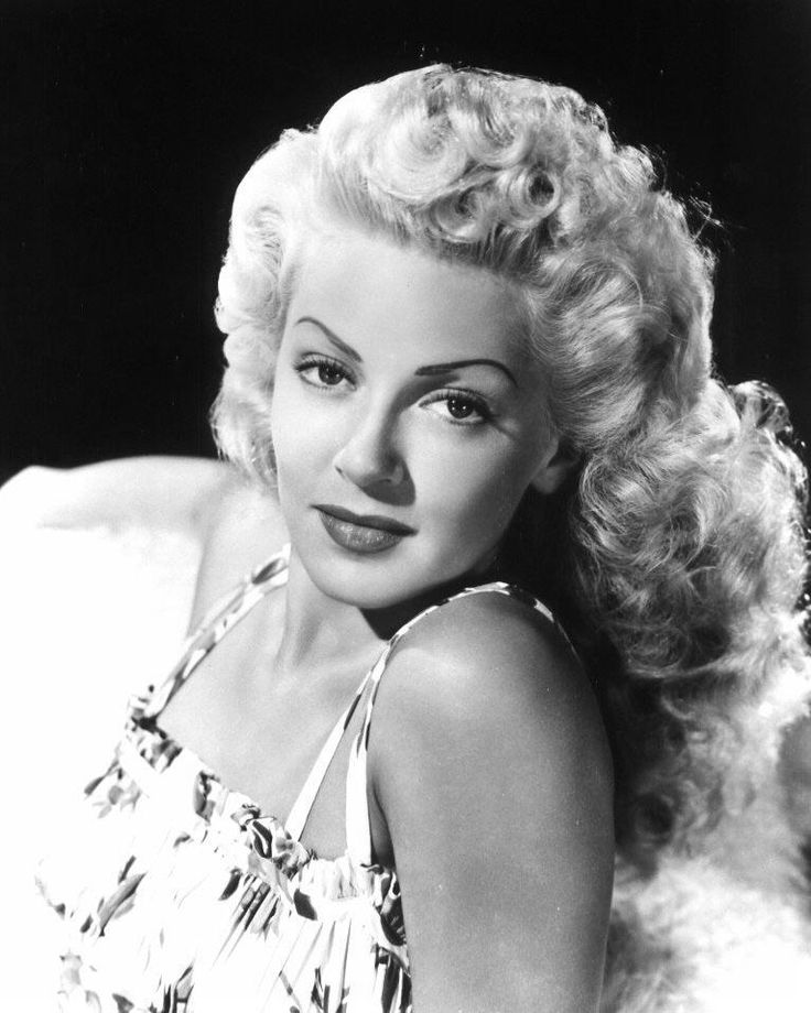 "Lana Turner, 1940's. (1921-1995). Discovered and signed to a film contract by Metro-Goldwyn-Mayer at the age of sixteen, her reputation as a glamorous femme fatale was enhanced by her performance in the film noir ""The Postman Always Rings Twice"" (1946). Her popularity continued through the 1950s. (Source: Wikipedia and IMDb)"