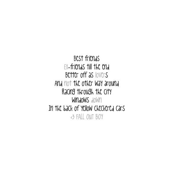 Foster The People - Best Friend Lyrics | MetroLyrics