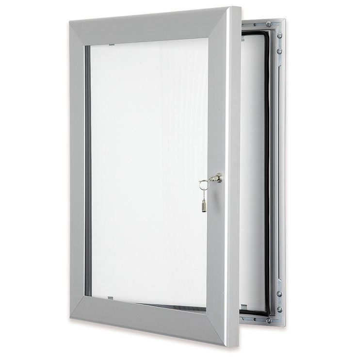 silver outdoor lockable poster cases lockable waterproof and vandal resistant