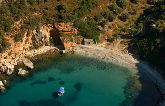Mikros Mourtias Beach, Alonissos