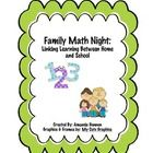 This packet was created to be used at a Family Math Night I hosted for my students and their families.  You could also use it to add math games to ...