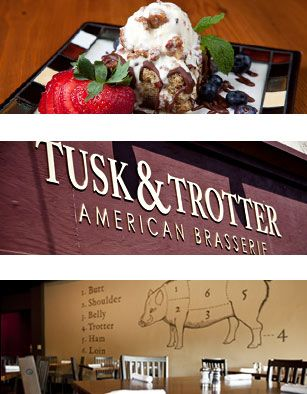 Got to try the Maple Bacon Ice cream at Tusk and Trotter in Downtown Bentonville!