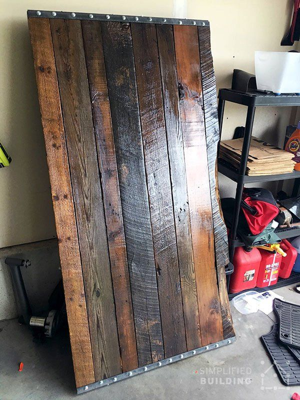Diy Rustic Office Desk Mike Pinterest Desks