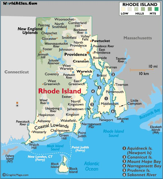Rhode Island grew up next door in CT and would go to Rl every chance all summer long