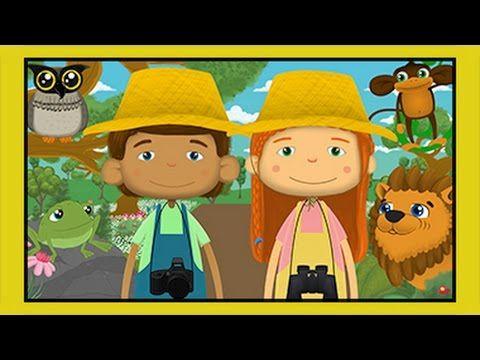 Haydi Ormana Gidelim | Hayvanlar Şarkısı | Edis ile Feris | Eğitici Çocuk Şarkıları - YouTube