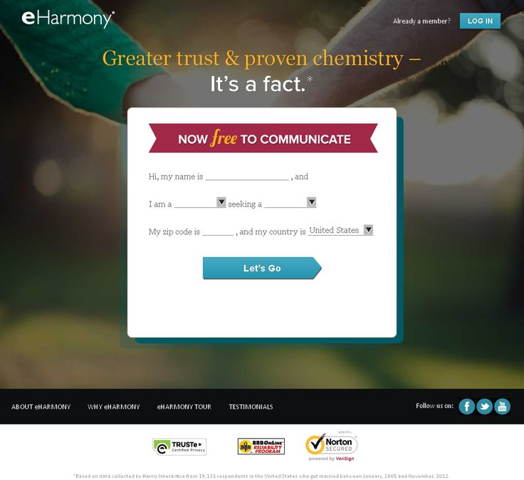 Dating Sites | eHarmony review | Need help with eHarmony? Wondering if eHarmony is a good dating site? Check out this honest review, or add your own experiences.