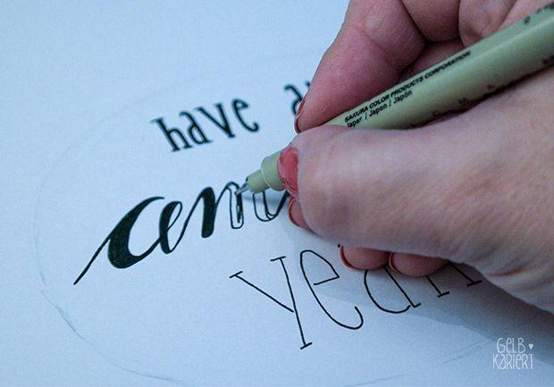 Ein einfaches Handschriftendesign für Anfänger ohne Pinsel – #Anfänger #Ein #… – Schön Kunsthandwerk Ideen