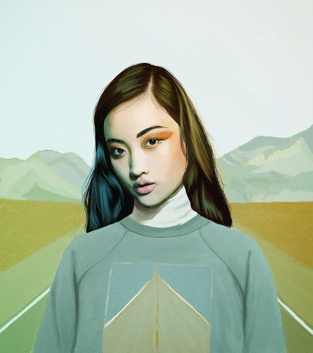 illustrations by Kemi Mai http://ineedaguide.blogspot.com/2014/12/kemi-mai.html #illustrations
