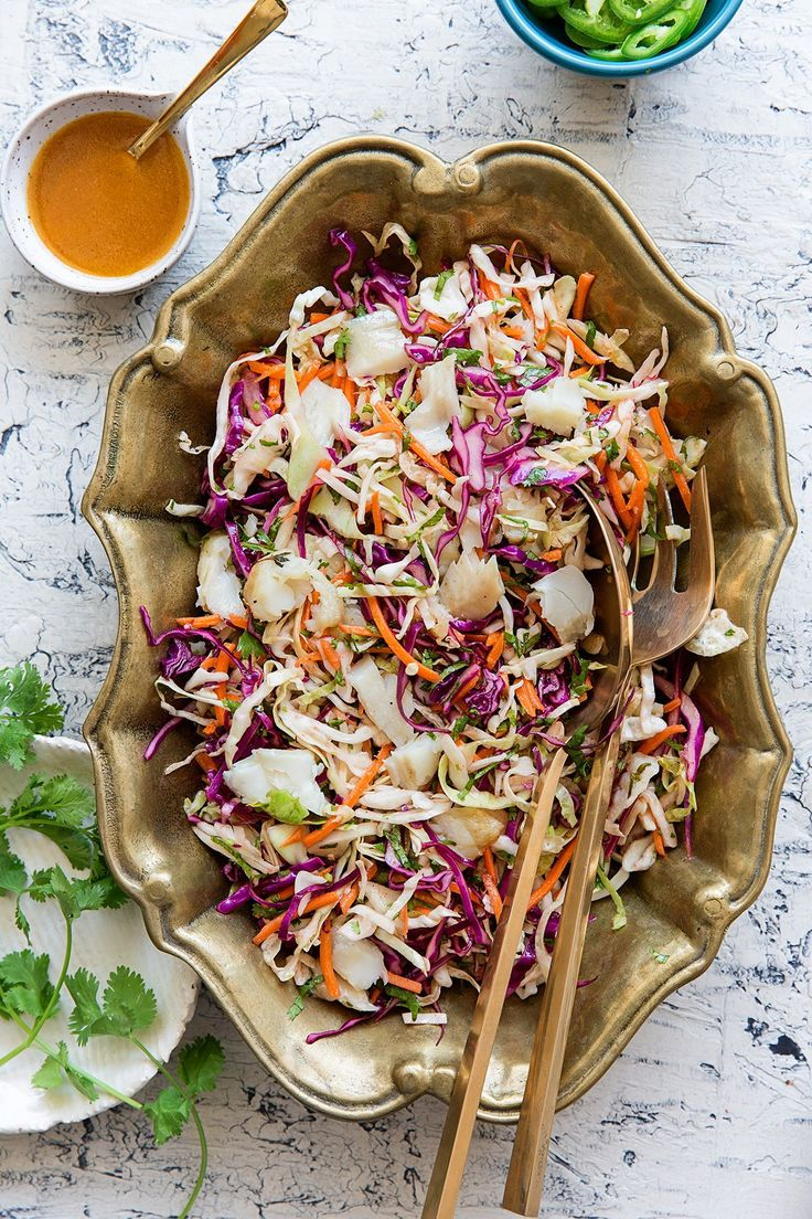 Mexican Coleslaw with Tilapia | Real Food by Dad