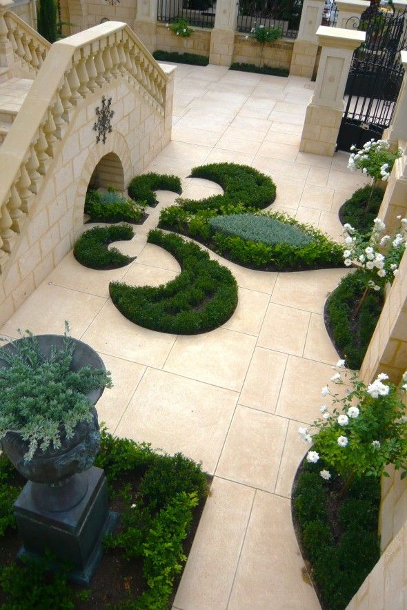 247 best images about fleur de lis my fav symbol on for English courtyard garden design