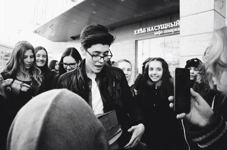 Фан-встреча в Москве
