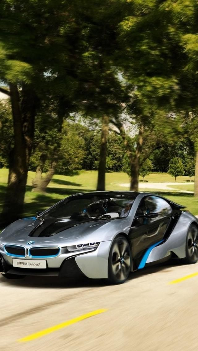 ♂ Silver BMW i8 Concept Cars