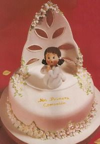 "МК ""Торты на крестины"" -Christening cake tutorials - Мастер-классы по украшению тортов Cake Decorating Tutorials (How To's) Tortas Paso a Paso"