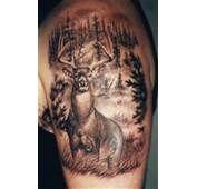 Deer Tattoos Girls