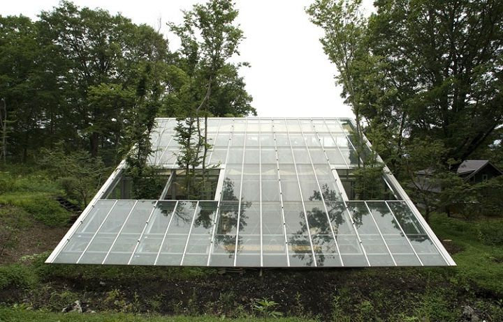 Pit greenhouse aquaponics pinterest for Greenhouse architecture design
