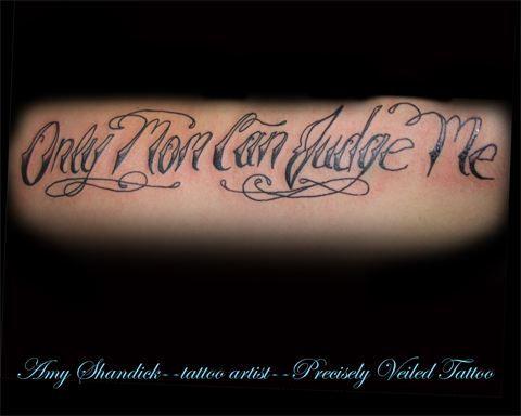 only mom can judge me tattoo tattoos ribcage  www.facebook.com/preciselyveiledtattoos www.preciselyveiledtattoo.com
