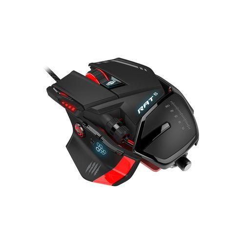 Test : Mad Catz RAT 6, excellente souris gaming à condition de tolérer son poids (TomsHardware)