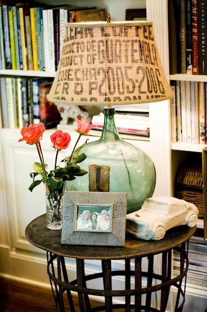 coffee sack lampshade: Burlap Sacks, Coffee Beans Sacks, Coffee Sacks, Burlap Lampshades, Cool Lamps, Glasses Lamps, Burlap Coffee Bags, Coffee Stations, Sacks Lampshades