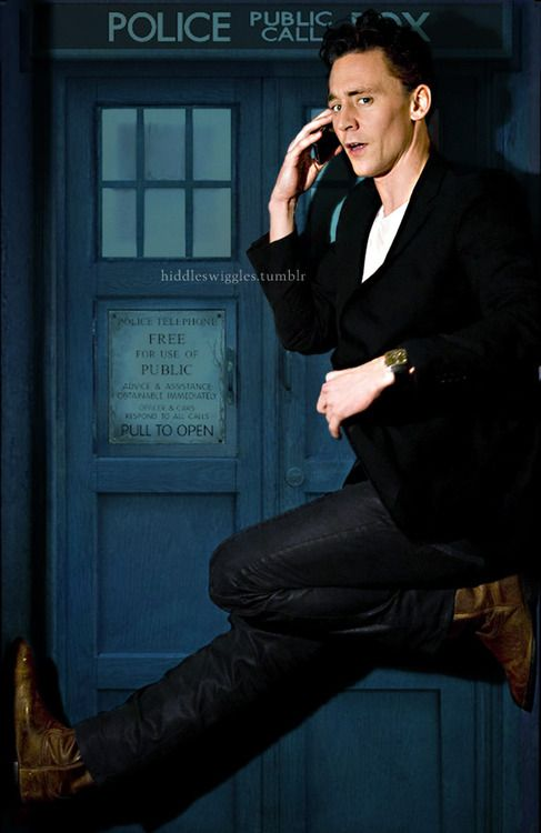 Doctor! I've been waiting for you!