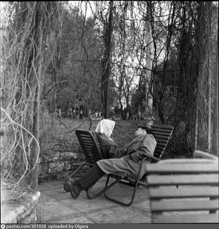 Снова весна в парке Горького  1961